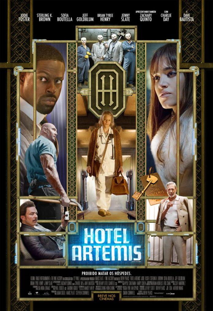 Poster_HotelArtemis-701x1024 Hotel Artemis | Filme ganha pôster e trailer em português; Confira