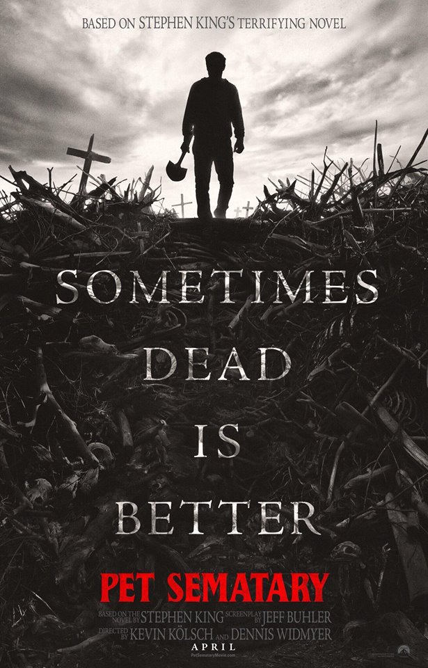 cemiterio-maldito O Cemitério Maldito | Remake ganha cartaz e trailer sombrio, confira!