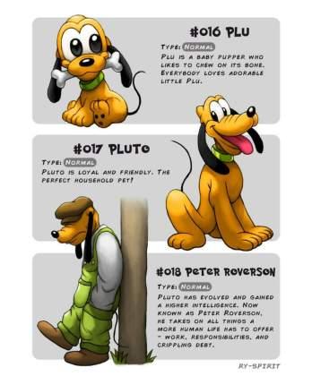 51 Artista recria vários personagens da Disney como evolução Pokémon!