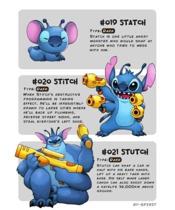121 Artista recria vários personagens da Disney como evolução Pokémon!