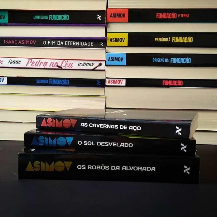 trilogia_robos_isaac_asimov Resenha | Os robôs da alvorada, de Isaac Asimov