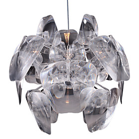 1-light Artistic Acryl Pendant Light