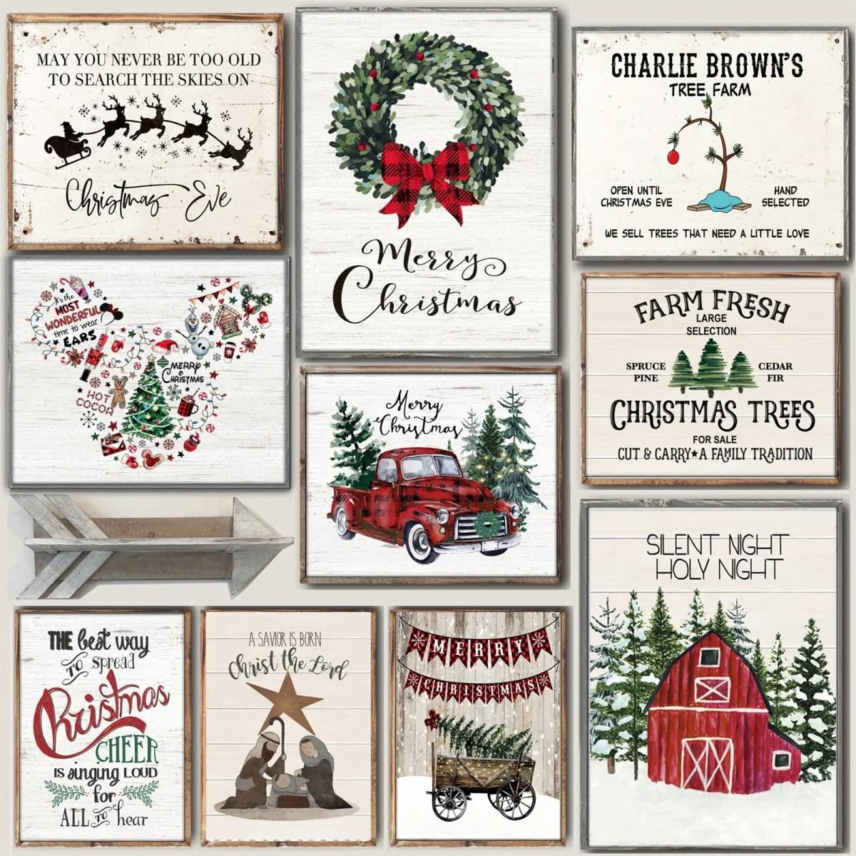 Lg. Cozy Christmas Art Prints