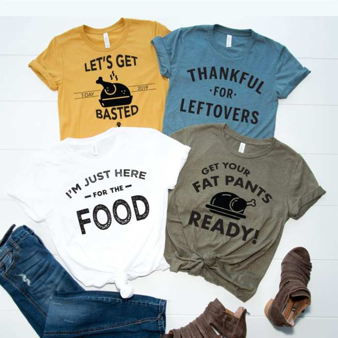 Sassy Thanksgiving Tees