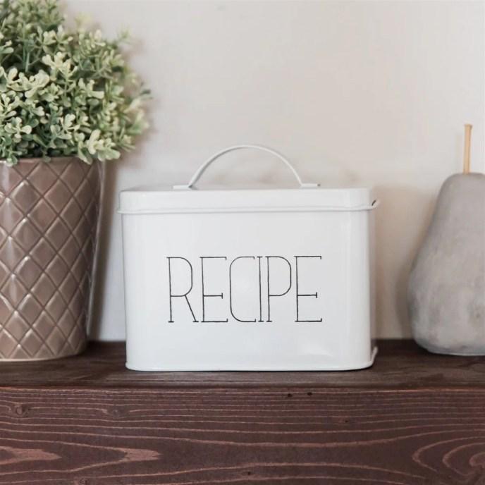 Farmhouse Recipe Box