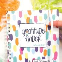 52-Week Gratitude Journal / 165 Stickers