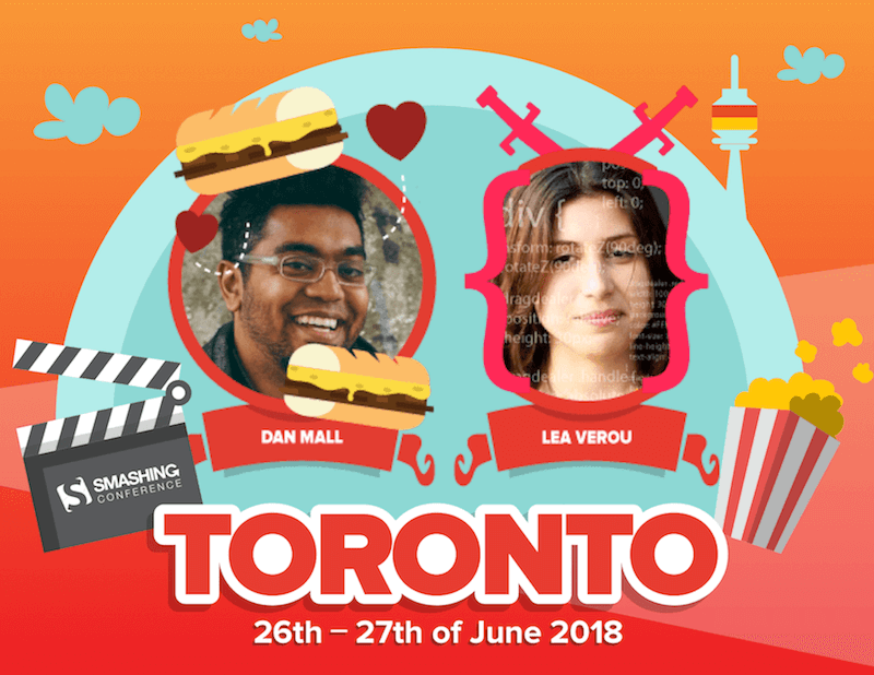Dan Mall and Lea Verou are two of the speakers at SmashingConf Toronto