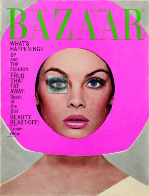 Harper's Bazaar, April 1965. Model: Jean Shrimpton. Photographer: Richard Avedon.