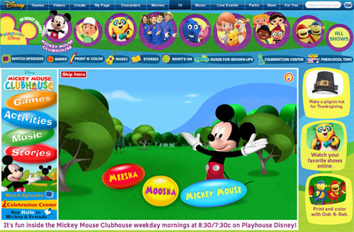 playhouse disney games mickey mouse clubhouse