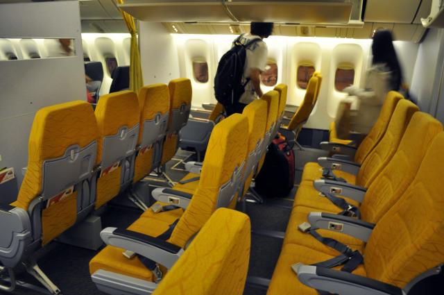 廉價航空注意事項酷航座位