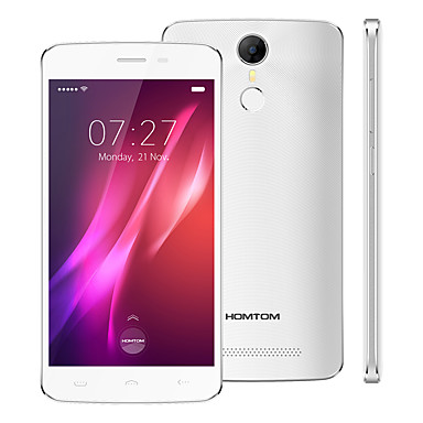 HOMTOM HT27 5.5 Android 6.0 3G Smartphone (Dual SIM Quad Core 5 MP 1GB 8 GB Black)
