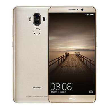 """Huawei Mate 9 5.9 """" Android 7.0 4G Smartphone (Dual SIM Octa Core 12 MP 20 MP 4GB + 64 GB Gold White Brown)"""