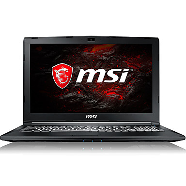 MSI gaming laptop 17.3 inch Intel i7-7700HQ 8GB DDR4 128GB SSD 1TB HDD Windows10 GTX1050Ti 4GB GL72M 7REX-817CN