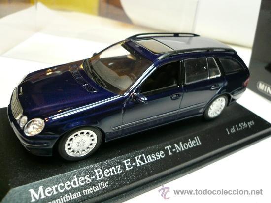 Minichamps Mercedes Benz E Klasse T Modell Edicion Limitada