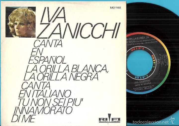 Iva Zanicchi Canta En Español La Orilla Blanca La Orilla Negra La Riva Bianca La Riva Nera 1