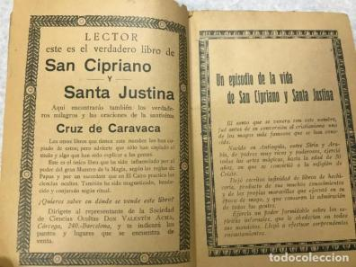 El libro de san cipriano y santa justina - mila - Sold at Auction ...
