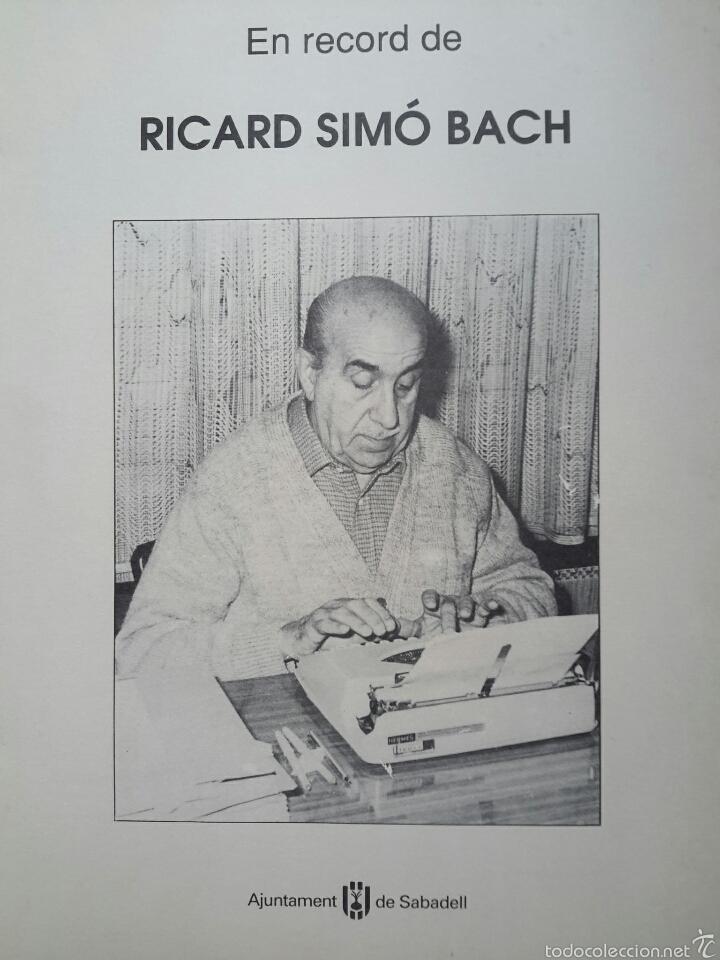 Image result for Ricard Simó i Bach,