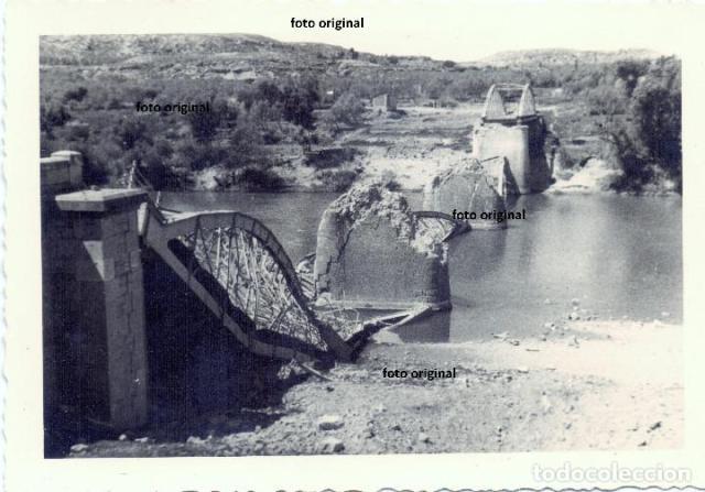 Puente caspe (zaragoza) destruido republicanos - Vendido en Venta ...