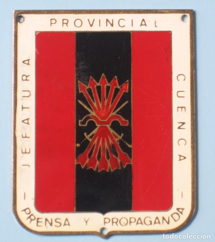 Resultado de imagen de Jefatura Provincial de Falange de Cuenca