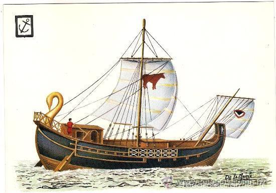 Resultado de imagen de nave mercante romana