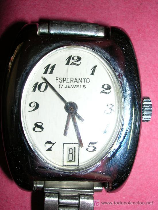 Resultado de imaxes para reloj esperanto