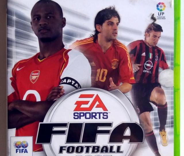 Fifa 2005  E2 80 A2 X Box Pal Espana Juguetes Videojuegos Y Consolas
