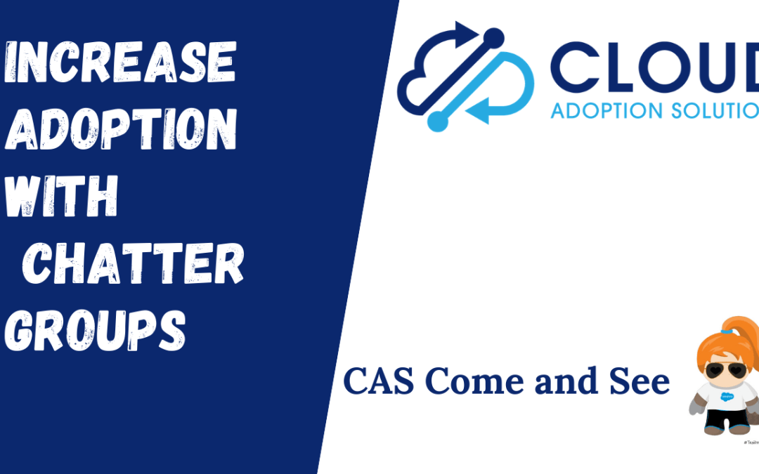 Increase Salesforce Adoption with Chatter Groups: Come and See Video