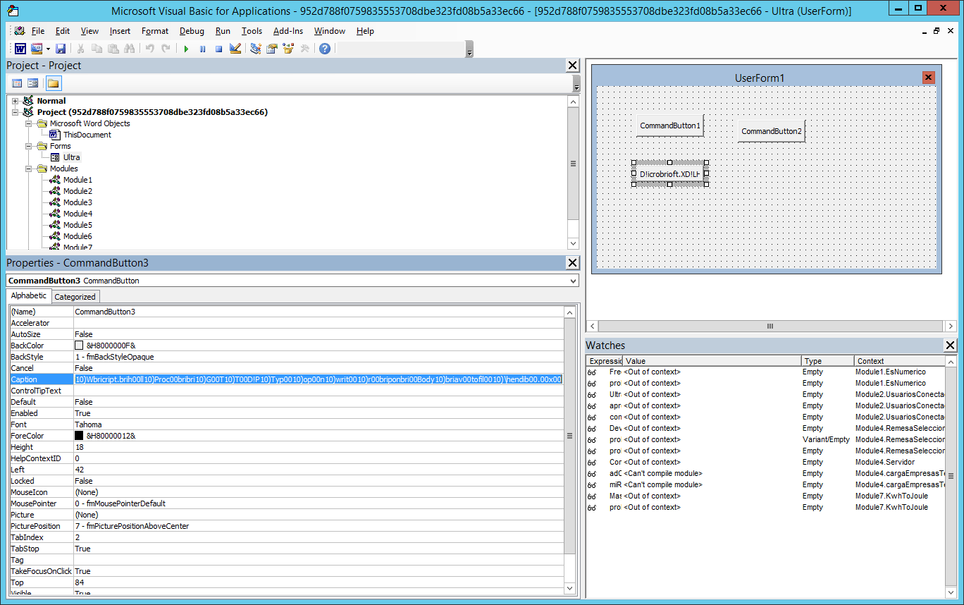 Malicious Macro Using A Sneaky New Trick
