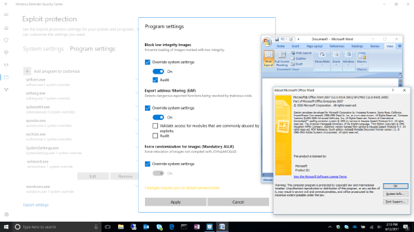 Windows Defender Exploit Guard: Reduce the attack surface ...