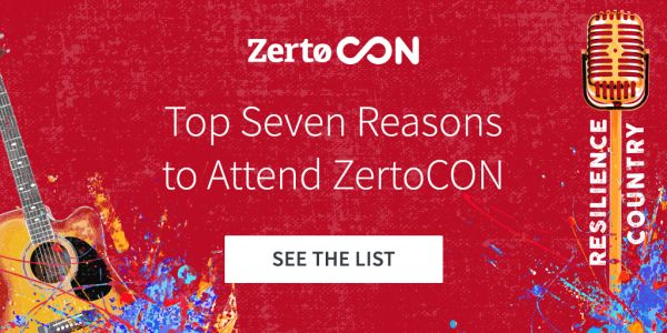 ZertoCON 2019 is quickly approaching – 7 reasons you won't want to miss it!