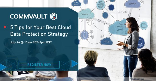 Webinar: 5 Tips for Your Best Cloud Data Protection Strategy