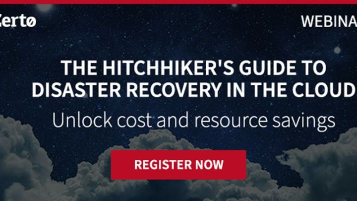 Webinar: The Hitchhiker's Guide to Disaster Recovery in the Cloud