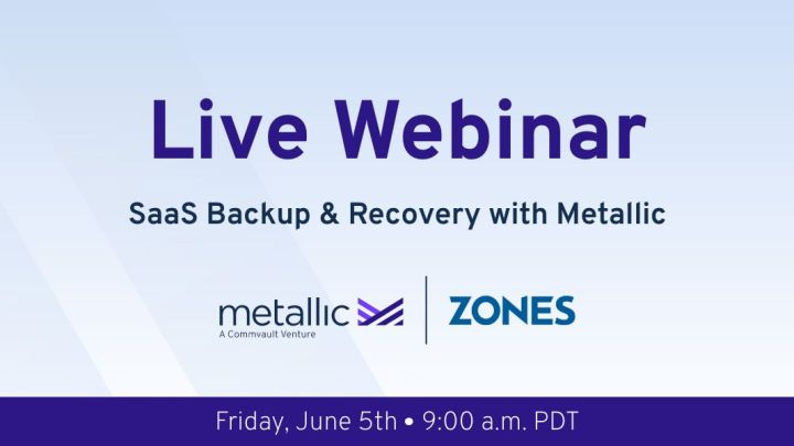 Webinar: Metallic Backup and Recovery on Zones Cloud 2.0