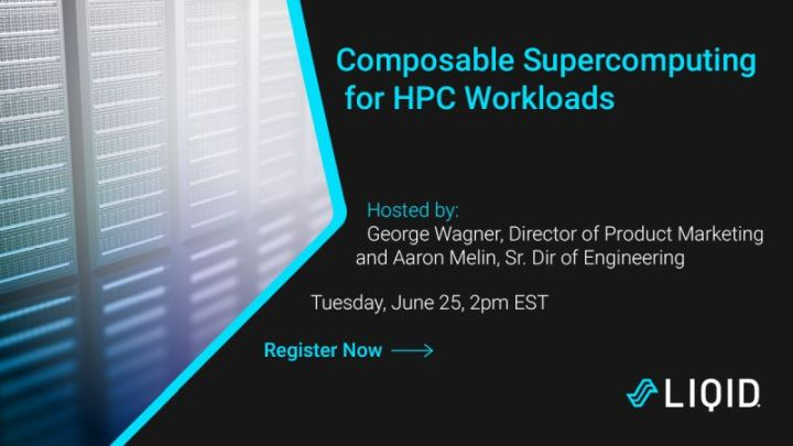 Webinar: Composable Supercomputing for HPC Workloads