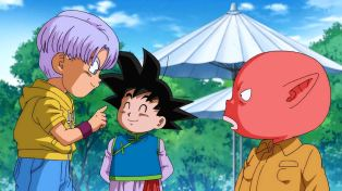 Hey, you're not nearly as dumb as Goku.