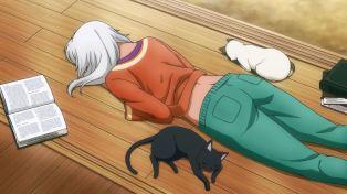 Like cat, like master.