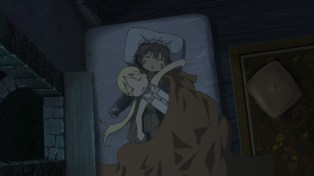 Made in Abyss - 02 - 10 Reg and Riko Sleeping