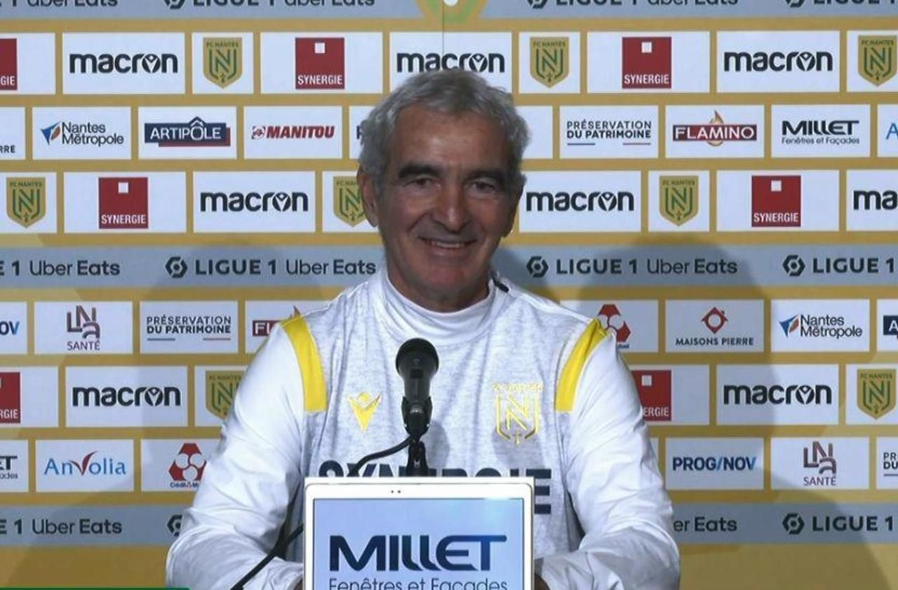 Fc Nantes Raymond Domenech Demolishes The Field For His First Against The Media Archyde