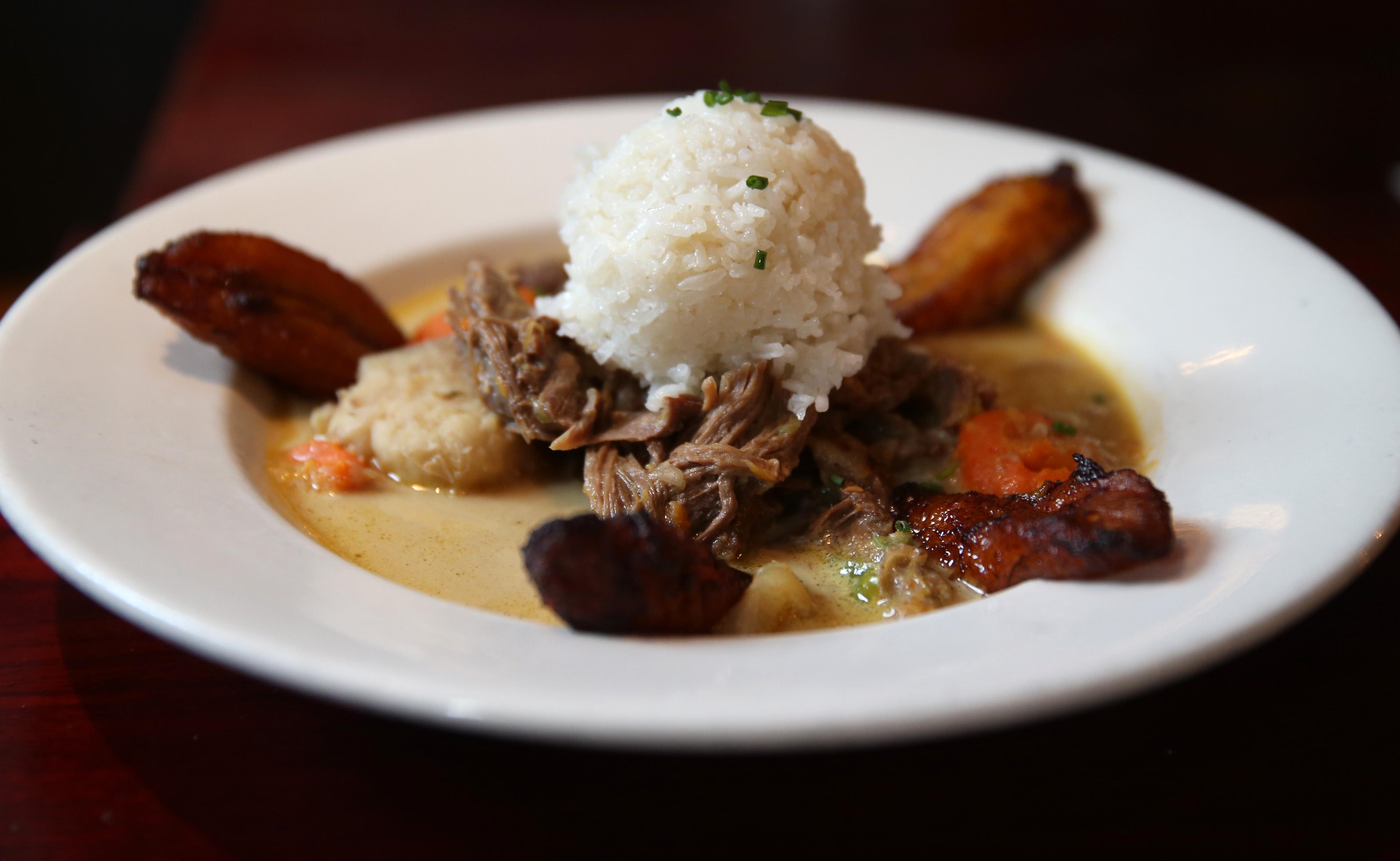 The goat stew at Highland Kitchen.