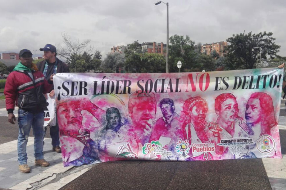 Asesinan a dos líderes sociales, uno en Guaviare y otro en Chocó | EL  ESPECTADOR