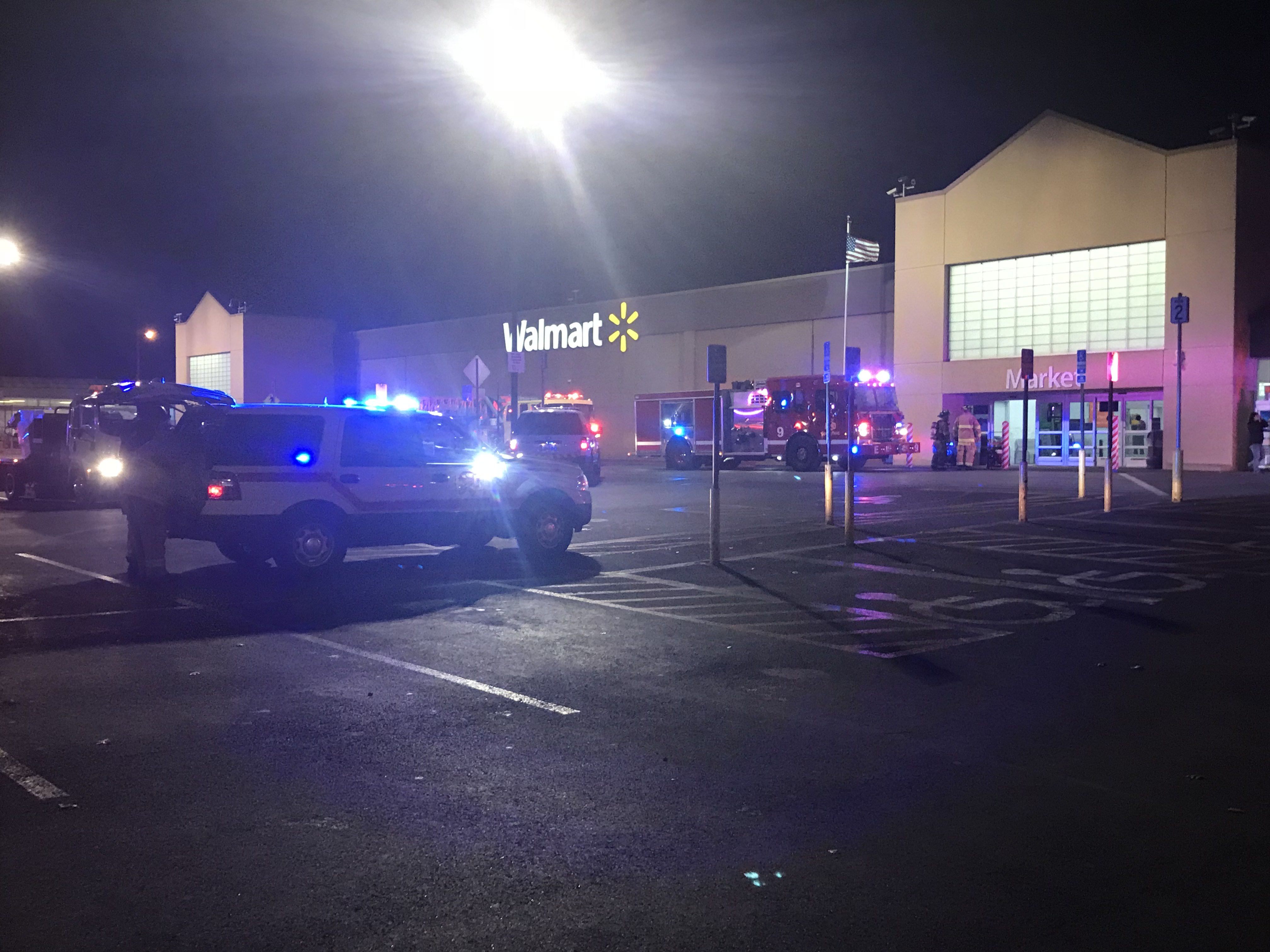 springfield walmart reopens after fire