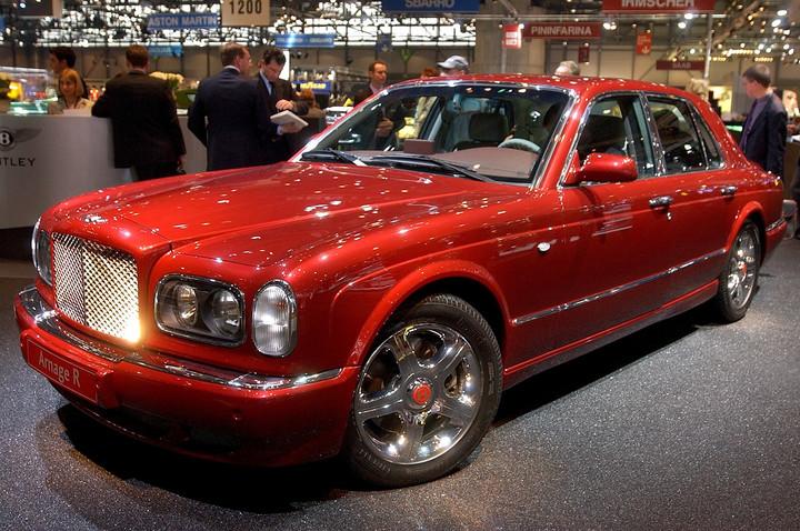 Un Bentley Arnage, uno de los lujos de Colin Weir. Foto: AP