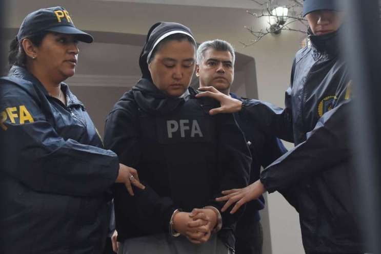 La monja japonesa Kumiko Kosaka está imputada por 7 hechos en la segunda causa. Foto: Orlando Pelichotti / Los Andes.