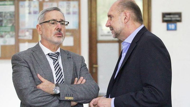 "Corach ratificó que Omar Perotti ""respalda absolutamente"" a Marcelo Sain | Vía Santa Fe"