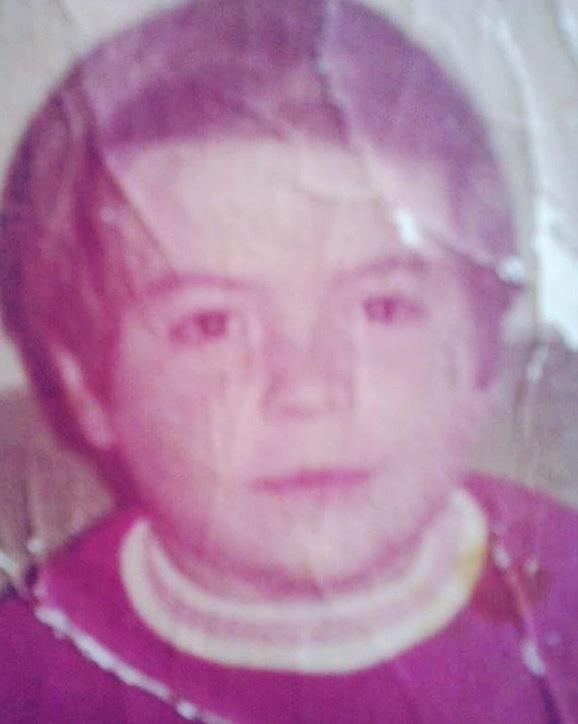 La foto de Julio Preciado cuando era niño (IG: juliopreciado)