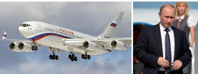 Putin, quien se encuentra en el poder desde 1999, ha utilizado ampliamente el Il-96 adaptado como transporte VIP