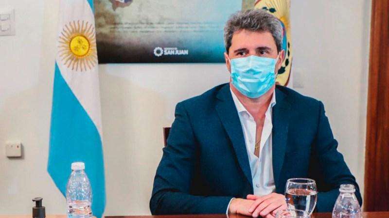 """Sergio Uñac, gobernador de San Juan: """"Privilegiamos el estatus sanitario y hoy tenemos en movimiento el 92% de la economía"""" - Infobae"""
