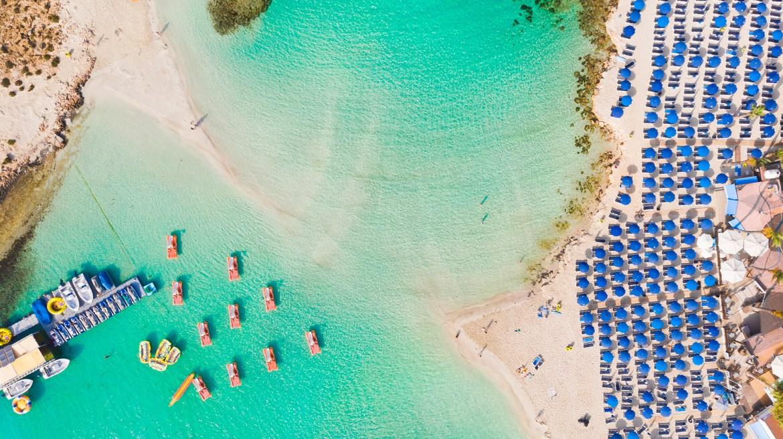 Las playas de Chipre, paradisíacas