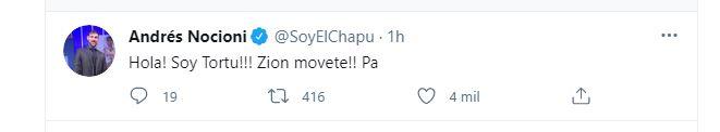 Nocioni no se quedó atrás y también se refirió al debut del argentino en Oklahoma City Thunder (Twitter)