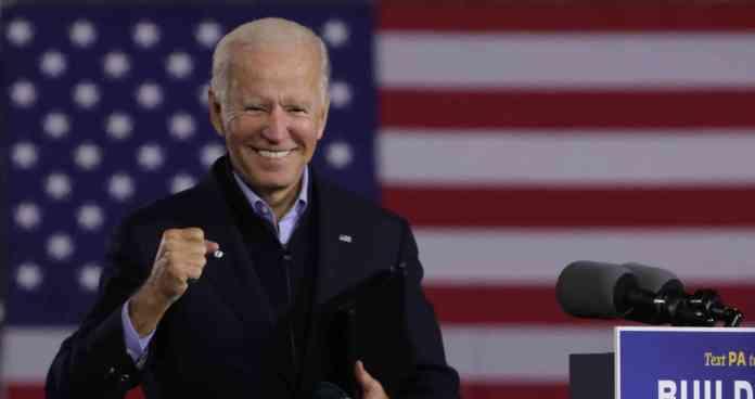 Joe Biden, candidato presidencial de Estados Unidos.